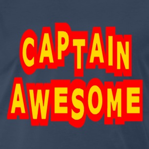 Navy Captain Awesome T-Shirts - Men's Premium T-Shirt