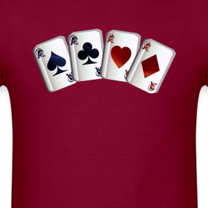 All Four Aces - Men's T-Shirt