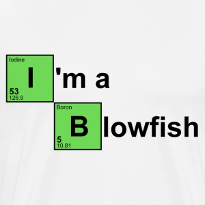 White I'm a Blowfish T-Shirts - Men's Premium T-Shirt