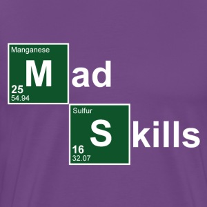 Purple Mad Skills T-Shirts - Men's Premium T-Shirt