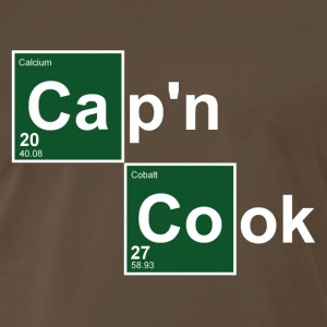 Brown Captain Cook T-Shirts - Men's Premium T-Shirt