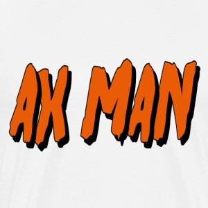White Ax Man T-Shirts - Men's Premium T-Shirt
