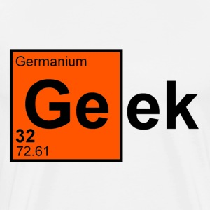 White Geek T-Shirts - Men's Premium T-Shirt