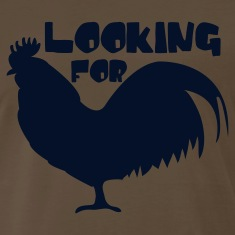 Brown Looking for cock rooster with star T-Shirts