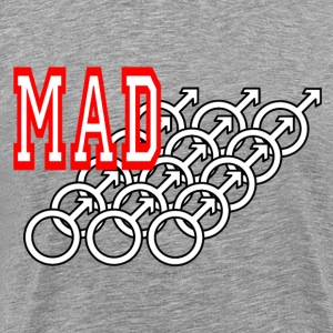 Ash Mad Male Men T-Shirts - Men's Premium T-Shirt