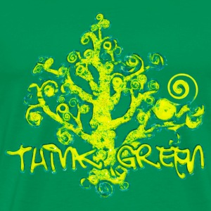 Think_Green - Men's Premium T-Shirt