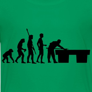 Kelly green evolution_billard_us Kids' Shirts - Kids' Premium T-Shirt