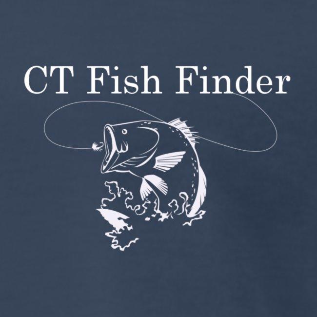 CT Fish Finder T-Shirt (Navy)