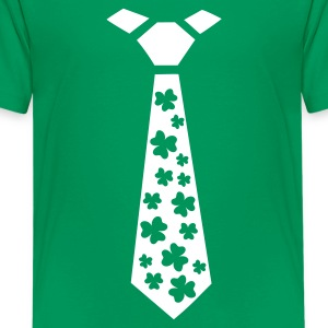 Kelly green Shamrocks Kids' Shirts - Kids' Premium T-Shirt