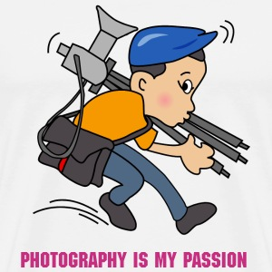 photography is my passion - T-Shirt - Men's Premium T-Shirt