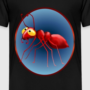 Red Ant In A Circle - Toddler Premium T-Shirt