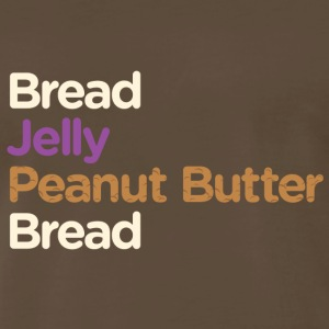 Peanut Butter Jelly Sandwich - Men's Premium T-Shirt