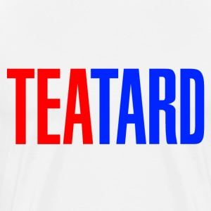 White TeaTard T-Shirts - Men's Premium T-Shirt