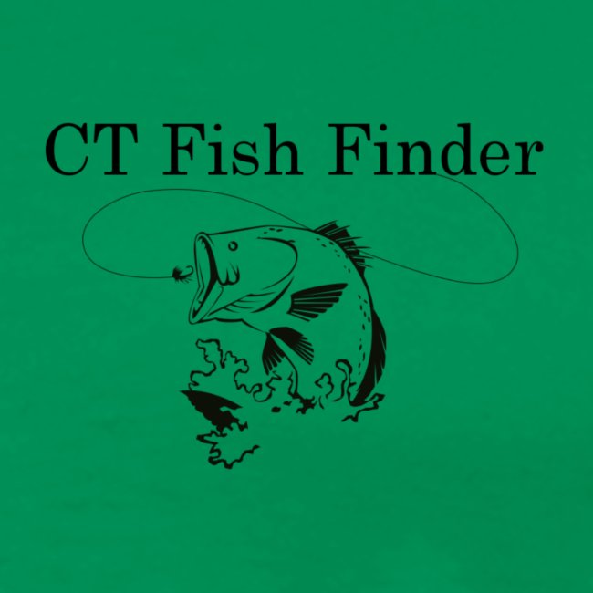 CT Fish Finder T-Shirt (Sage)