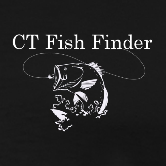 CT Fish Finder T-Shirt (Black)