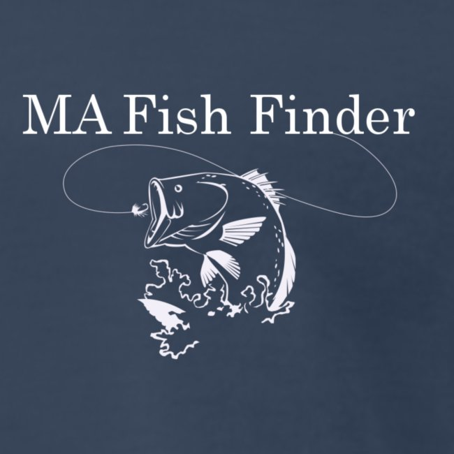 MA Fish Finder T-Shirt (Navy)