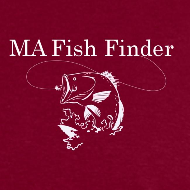 MA Fish Finder T-Shirt (Burgundy)