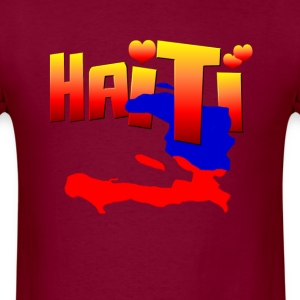 Haiti Love - Men's T-Shirt