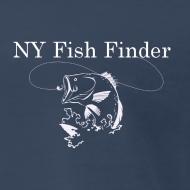Design ~ NY Fish Finder T-Shirt (Navy)