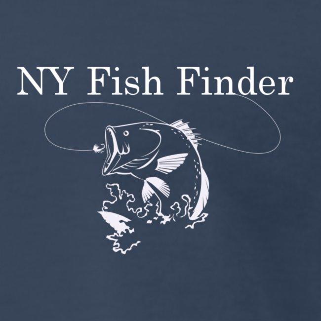 NY Fish Finder T-Shirt (Navy)