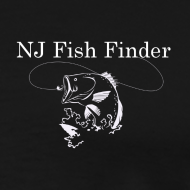 Design ~ NJ Fish Finder T-Shirt (Black)
