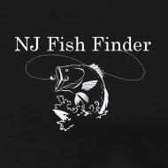 Design ~ NJ Fish Finder T-Shirt (Black)