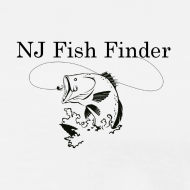 Design ~ NJ Fish Finder T-Shirt (Natural)