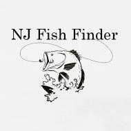 Design ~ NJ Fish Finder T-Shirt (Natural)