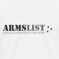Design ~ ARMSLIST Logo Tee XXXL