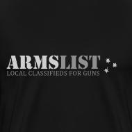 Design ~ ARMSLIST Logo Tee - Heavyweight