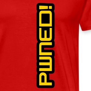 Red Pwned! T-Shirts - Men's Premium T-Shirt