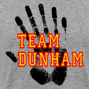 Heather grey Fringe Team Dunham T-Shirts - Men's Premium T-Shirt