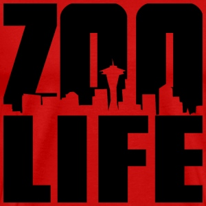 Red ZOO LIFE T-Shirts - Men's Premium T-Shirt