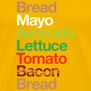 Bacon Lettuce Avocado Tomato - Men's Premium T-Shirt