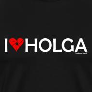 Design ~ I [heart] Holga  |  white print