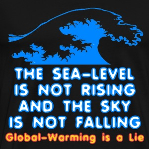Black Sea Level Is Not Rising T-Shirts - Men's Premium T-Shirt
