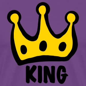 Purple king T-Shirts - Men's Premium T-Shirt
