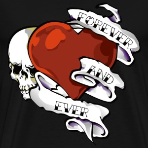 Tattoo Heart - Men's Premium T-Shirt