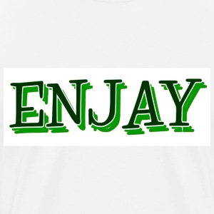 ENJAY T-Shirt-Green - Men's Premium T-Shirt