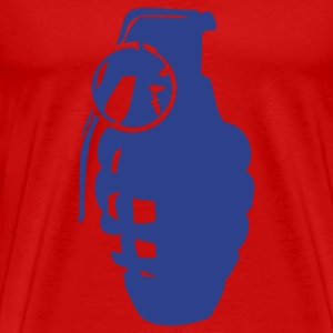 Red grenade vector T-Shirts - Men's Premium T-Shirt
