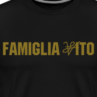 Design ~ Men  Famiglia Vito tee