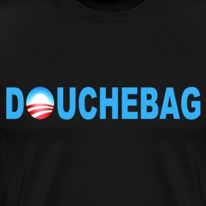 Black Obama Douchebag T-Shirts - Men's Premium T-Shirt