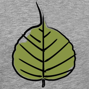 Bodhi leaf 04 - Men's Premium T-Shirt