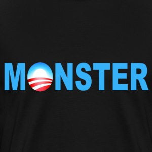 Black Obama Monster T-Shirts - Men's Premium T-Shirt