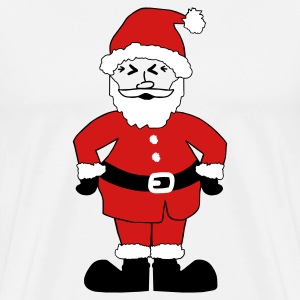 White Santa Claus T-Shirts - Men's Premium T-Shirt