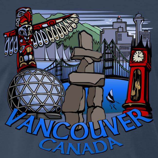 Vancouver T-shirt Ladies Vancouver Canada Shirt