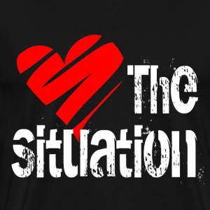 Black Love the Situation T-Shirts - Men's Premium T-Shirt