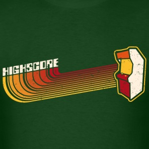 Forest green Highscore1 (Vintage Print) T-Shirts - Men's T-Shirt