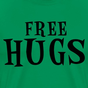 Kelly green free hugs T-Shirts - Men's Premium T-Shirt