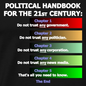Trendy Political Handbook - Men's Premium T-Shirt